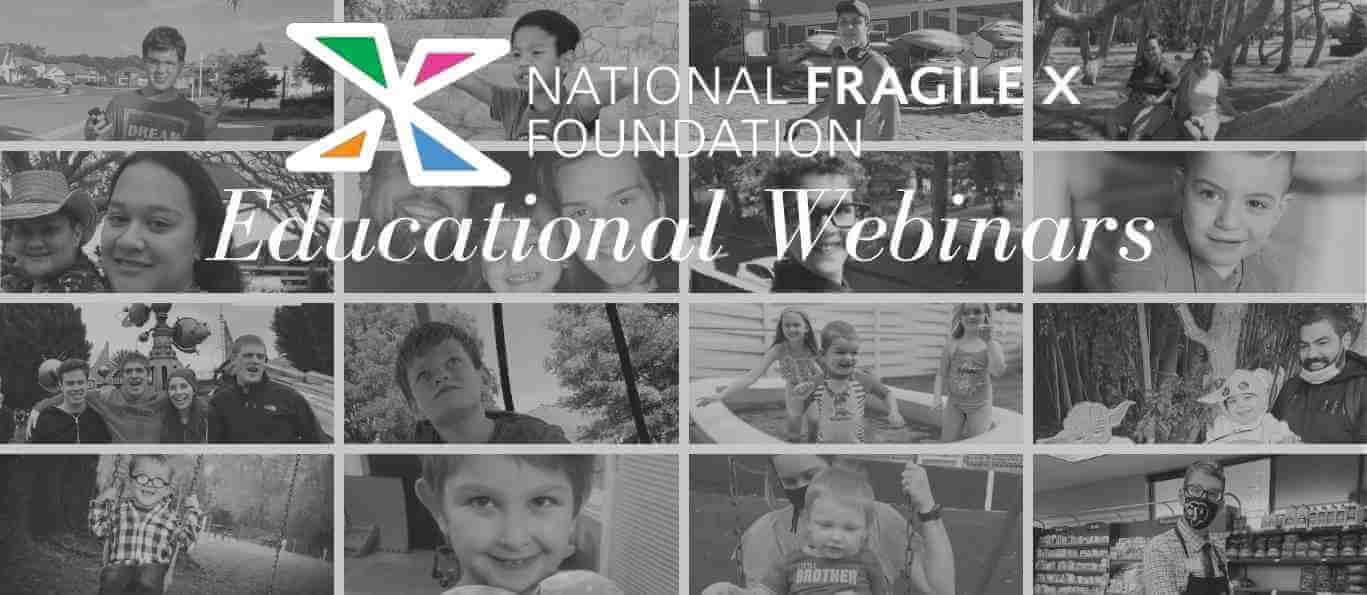 NFXF educational webinars - grid of photos