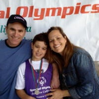 Ian Participates in the Special Olympics