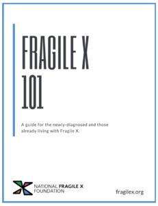 Fragile X 101 book cover