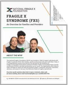 Fragile X Syndrome PDF cover