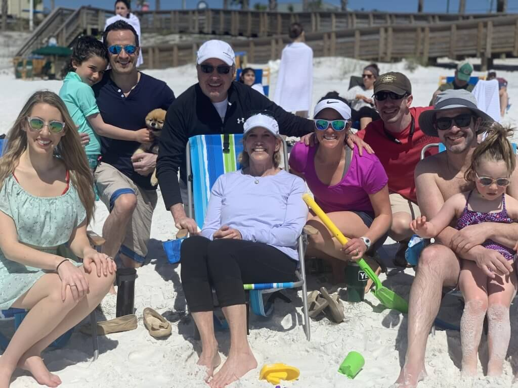 Gail and Lyons Heyman and family