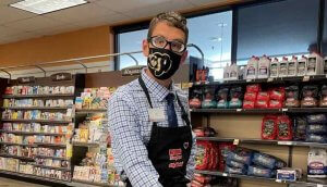 ian weber at kings sooper grocery store