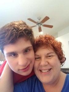 Ian and his mom