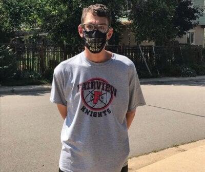 ian in his buffs mask FB