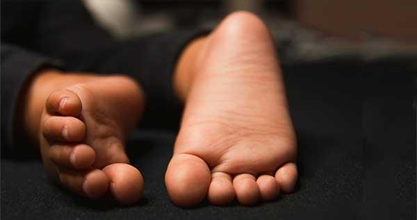 Bottom of baby's feet