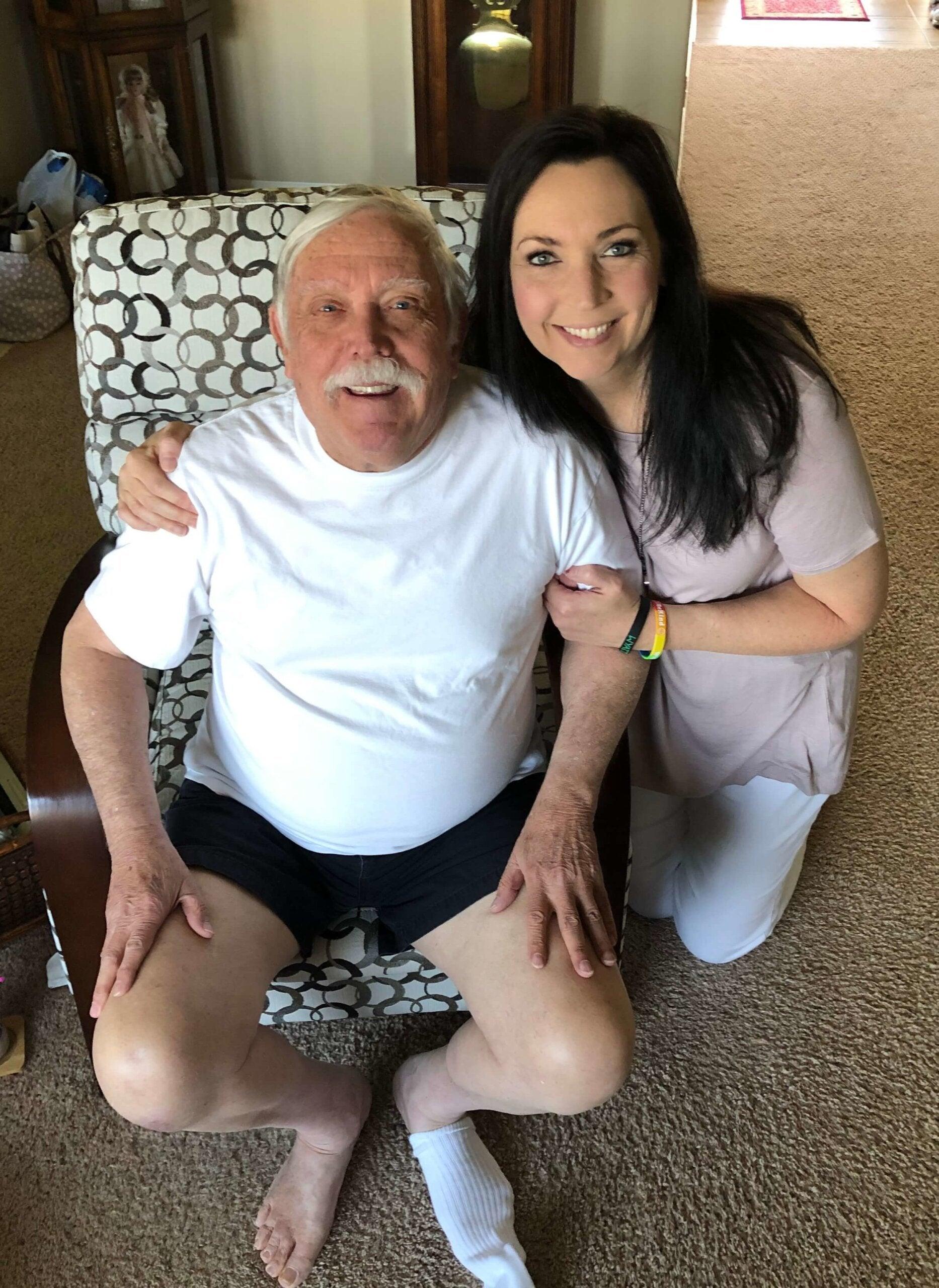 John Menke and his daughter Kelly