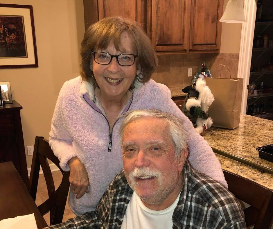 kathy menke and her husband who has FXTAS