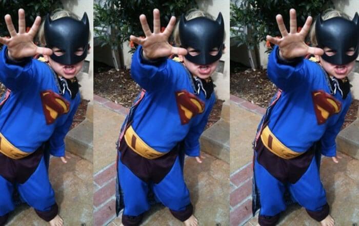 Little Superman in triplicate