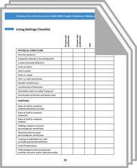 Living Settings Checklist