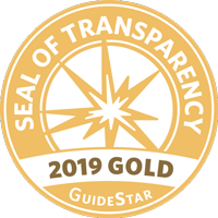 Guidestar Gold-Level Participant seal for 2019