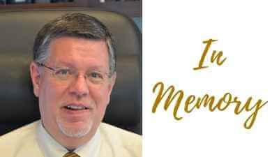 "Steve Warren photo and ""in memory"""