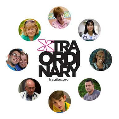 Xtraordinary people in the lives of those with Fragile X