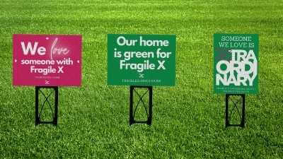 three fragile x awareness signs